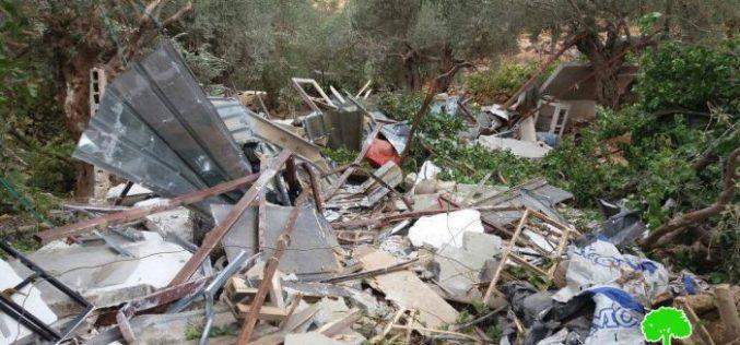 Israeli Occupation Forces demolish three residences in Bethlehem city