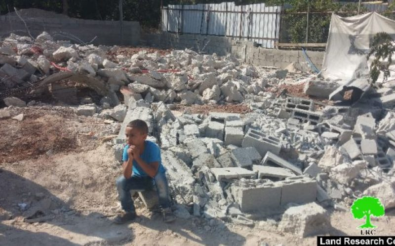 Dozers of the Israeli occupation municipality demolish two under-construction residences in Silwan