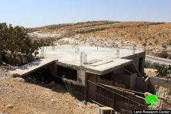 Israeli Occupation Forces threat to demolish a residence in the Hebron town of Yatta