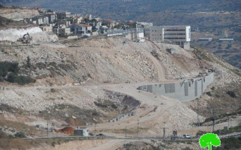 """الإعلان عن إيداع مخطط تفصيلي جديد لمستعمرة """" الكانا"""" على حساب أراضي قرية مسحة"""