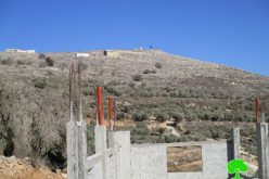 Givat Ronen colonists set fire to under-construction residence in Burin village