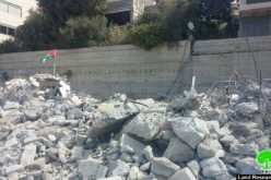 Israeli Occupation Municipality demolish four residential apartments in At-Tur town in Jerusalem