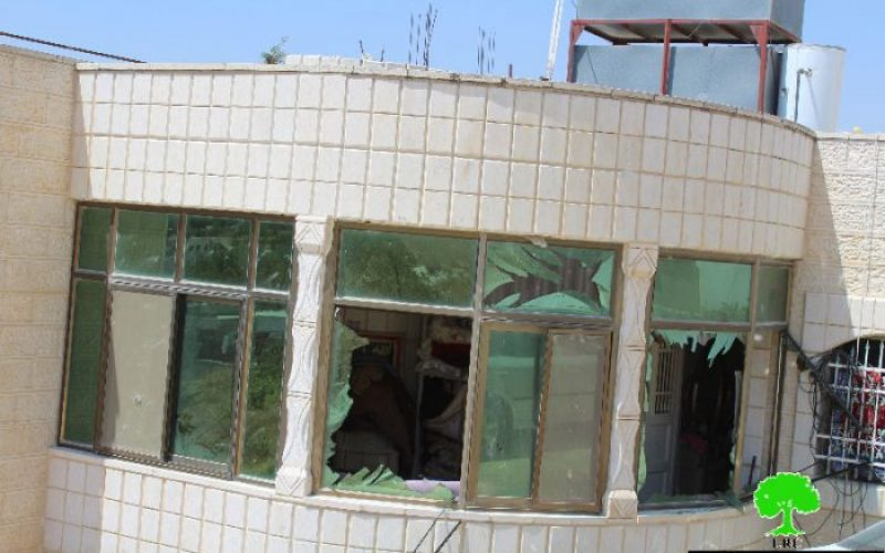 Israeli Occupation Forces detonate a residence in the Hebron town of Bani Na'im on security claim