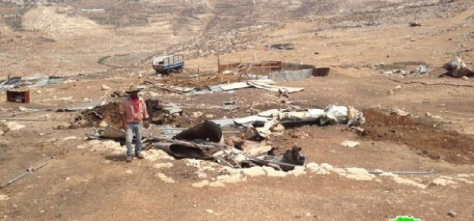 Demolition of residences and structures in the Bedouin community of Al-Maa'zi