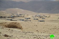Israeli Occupation Forces confiscate caravans from the Jericho area of Al-Mu'arrajat