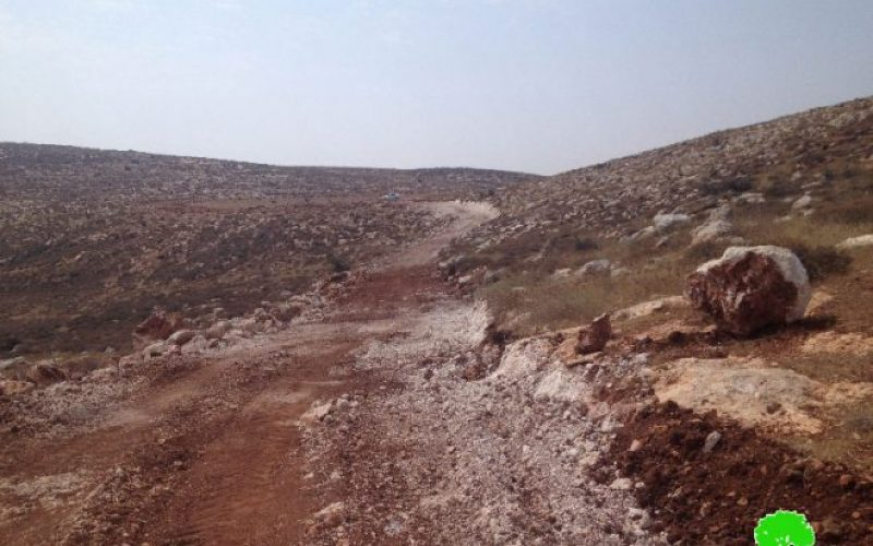 Colonists' campaign against re-opening agricultural road in Nablus