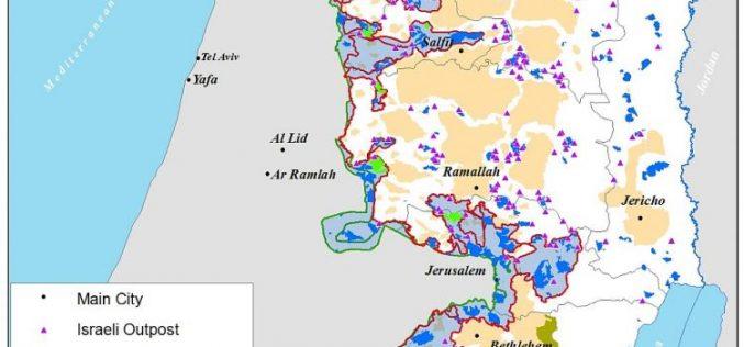 108 דונמים מאדמה פלסטינית המיועדת להרחבת ההתנחלויות בשטחים הכבושים
