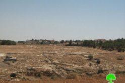 """الإعلان عن إيداع خارطة مفصلة جديدة لمستعمرة """" ماعون"""" على مساحة 8.5 دونماً من الأراضي الفلسطينية"""