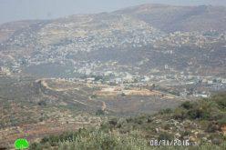 """الإعلان عن إيداع مخطط تنظيم تفصيلي جديد لمستعمرة """" كفار تبواح"""" على حساب أراضي قرية ياسوف"""