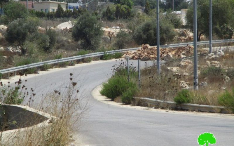 Israeli Occupation Forces seal off the entrance of Yasuf village in Salfit