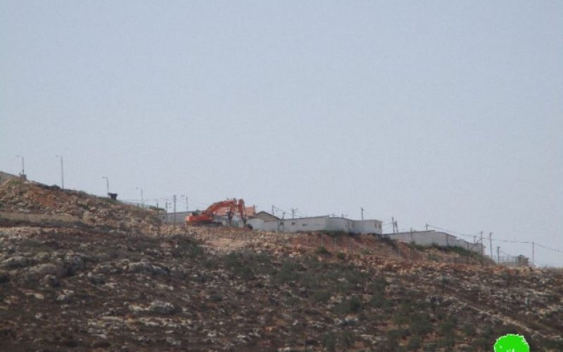 New colonial road for Migdalim colony at the expense of Nablus lands
