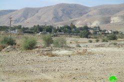 """الإعلان عن مخطط تنظيمي جديد لمستعمرة """" حمدات"""" في قلب الأغوار الشمالية"""