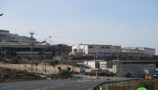 """على حساب 18 دونماً من أراضي محافظة سلفيت,مخطط إسرائيلي جديد لتوسعة المنطقة الصناعية في مستعمرة """"ارائيل"""" على أراضي سلفيت"""