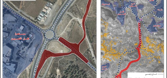 أمر عسكري إسرائيلي لشق طرق في منطقة تجمع مستعمرات جوش عتصيون