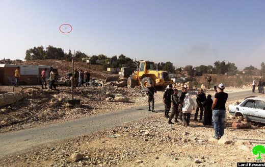 الاحتلال يهدد بمسح خربة أم الخير شرق يطا