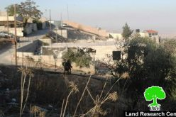 Israeli Occupation Forces demolish structures in the Jerusalem village of AL-Isawiya