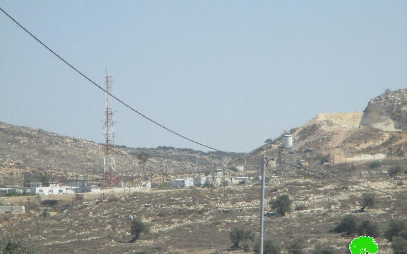 Final stop-work orders on four residences in the Hebron town of Beit Awwa