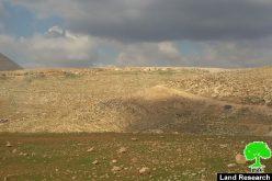 الاحتلال الاسرائيلي يقتحم خربة طانا و يصادر معدات تستخدم في تأهيل بئر مائي