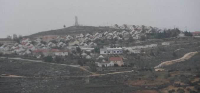 New master plan for an Israeli outpost on 280 dunums from Jalud village