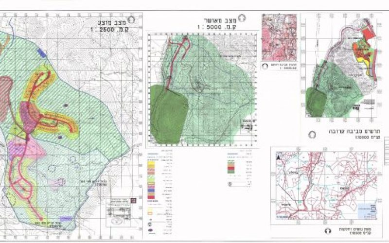 New master plan for Rotem colony on 1574 dunums of Palestinian lands
