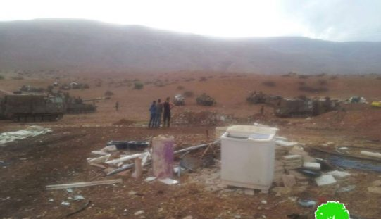 Israeli Occupation Forces turn Furush Beit Dajan village into military training zone