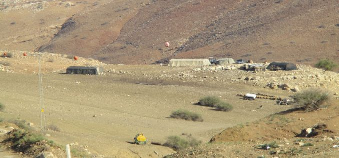 Israeli Occupation Forces confiscate five tractors from Tubas governorate
