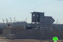 إقامة نقطة عسكرية ثابتة على المدخل الغربي لبلدة تقوع