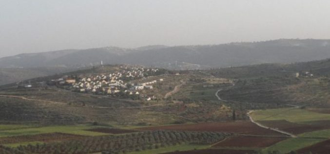 Israel deposits new master plan for Shilo colony at the expense of Nablus lands
