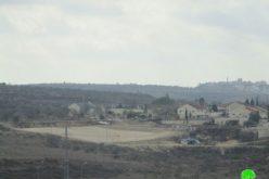 """اعمال توسعة ملحوظة تشهدها مستعمرة """" متسبيه يشاي"""" على أراض قرية كفر قدوم"""