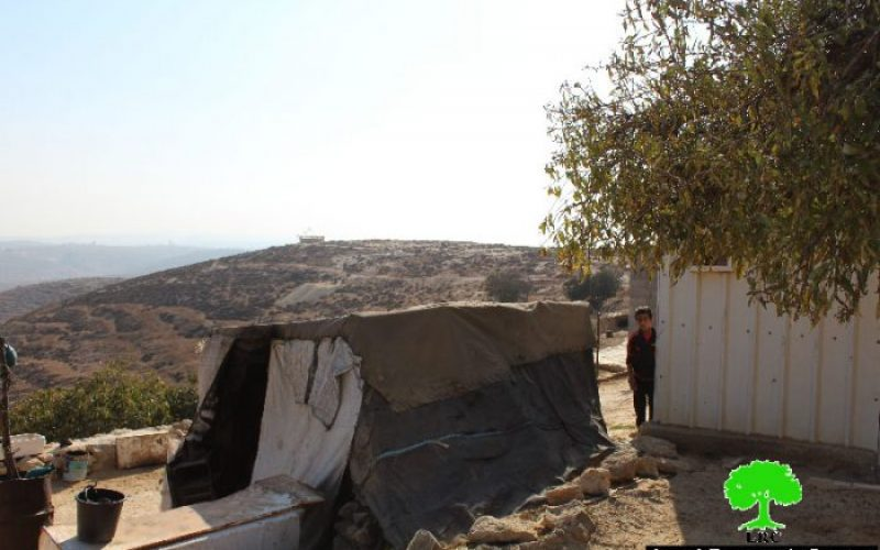New colonial outpost on the lands of Birin Hamlet in Hebron governorate