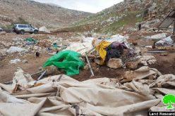 Israeli Occupation Forces demolish Tana hamlet again