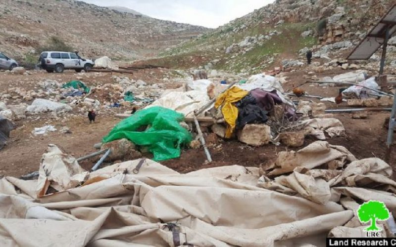 Israeli Occupation Forces demolish Tana hamlet again