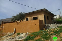 Stop-Work orders in Nablus village of Furush Beit Dajan