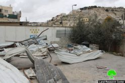 Israel Municipality demolishes commercial structures in the Jerusalem neighborhood of Wad Qaddum