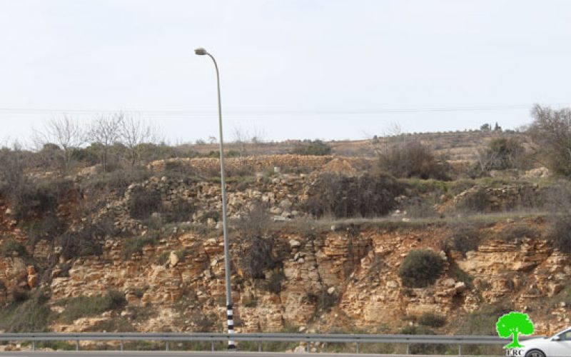 Israeli Occupation Forces notify structures of stop-work on Bethlehem
