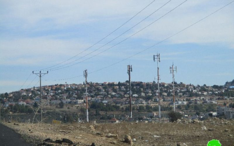Israel extends validity of 34 dunums land grab in Abud village through military order