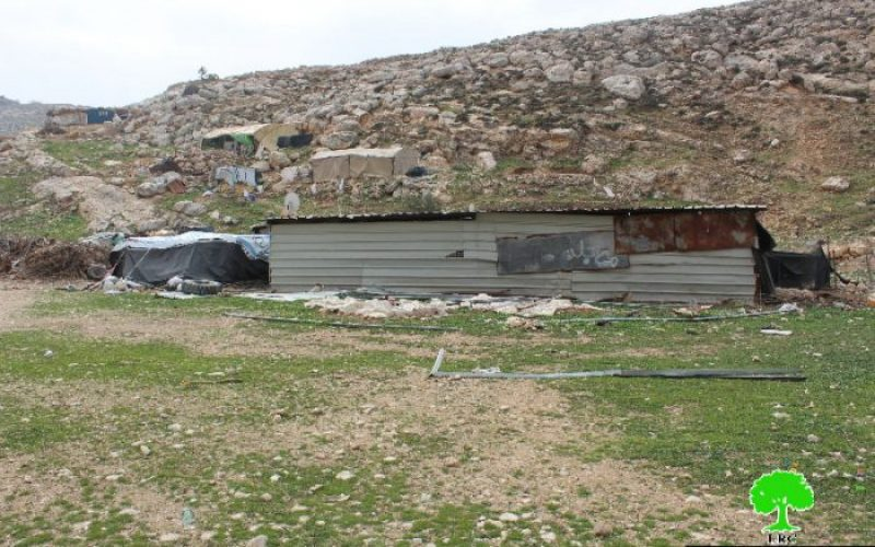 Stop-work orders on residential and agricultural structures in the Hebron village of Dura