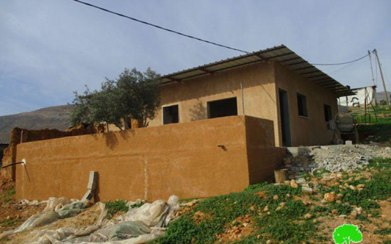 Stop-Work orders in Nablus village of Furush Beit Dajan