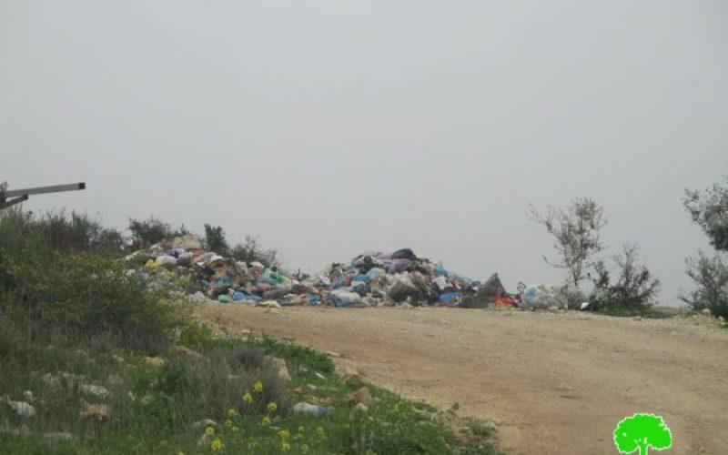 مصادرة 3 سيارات لنقل النفايات تابعة لمجلس إدارة النفايات الصلبة في قرى شرق مدينة قلقيلية