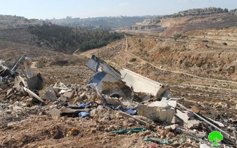 The Monthly Report on Israeli Violations in Occupied Jerusalem during November  2016