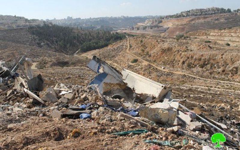 التقرير الشهري حولالانتهاكات الإسرائيلية في القدس المحتلةخلال تشرين ثاني – 2016
