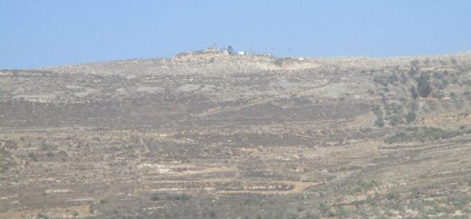 Israel issues an extension order on a 4 dunum land grab in Nablus