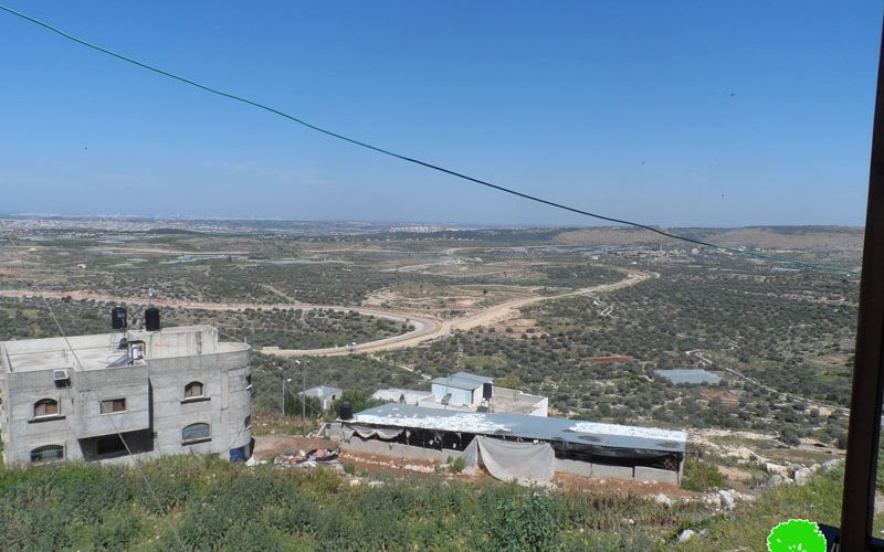 Israel to continue a land grab on 170 dunum in Qalqiliya governorate
