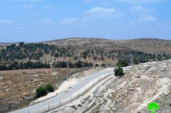 Israel sets up segment of the apartheid wall west of Hebron governorate