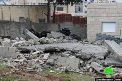 Israeli Occupation Forces demolish under construction home north Jerusalem