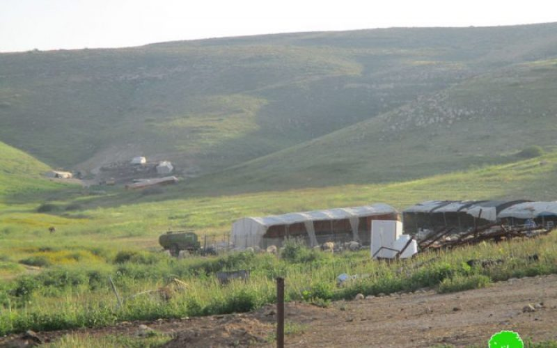 Israeli Occupation Forces confiscate caravan from Palestinian Jordan Valley