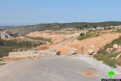 إغلاق طريق زراعي يخدم 400 دونم من الأراضي الزراعية في قرية حوسان