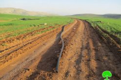 Israeli Occupation Forces demolish water supply pipelines in Sahel Al-Bikai'a area