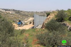 Israel to build new segment of the apartheid wall in Wad Krimzan in Bethlehem governorate