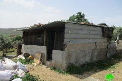 اخطاراتبوقف البناء تطال منشآت زراعية شمال غرب بلدة ترمسعيا